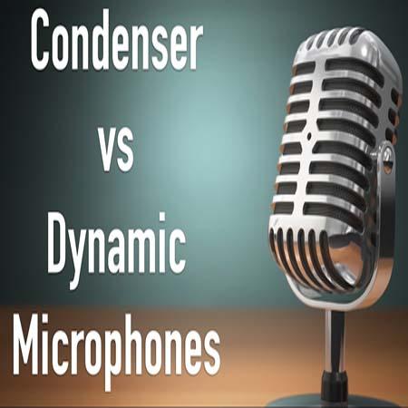 dynamic mic vs condenser mic